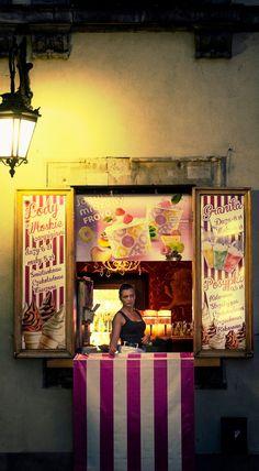 Ice Cream Shop, Warsaw, Poland