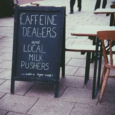 Caffeine Dealers and Local Milk Pushers... with a sugar rush!