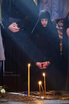 A young Orthodox nun <3