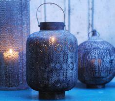 lyktor / lanterns Boho Chic style inredning decoration home styling lights