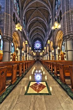 Sacred Heart Basilica, Newark, NJ, where my Mom and Dad were married on October