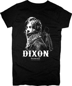 Ladies Daryl Dixon Bandana The Walking Dead oficial Camiseta mujeres #camiseta #realidadaumentada #ideas #regalo