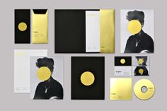Enigma Personal Identity by Marina Zertuche, via Behance Corporate Design, Brand Identity Design, Graphic Design Typography, Branding Design, Corporate Identity, Letterhead Design, Stationery Design, Personal Identity, Visual Identity
