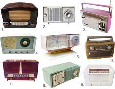 vintage radio | Vintage Radio Roundup Etsy Finds | Apartment Therapy