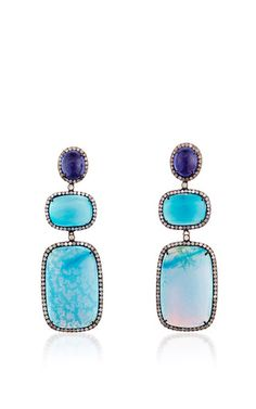 One Of A Kind Bahira Earrings by Lauren Craft Collection for Preorder on Moda Operandi