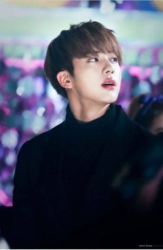 #4 Jin BTS He is my sweet and beloved BTS bias. He is also as beautiful as a porcelain doll.