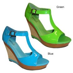 @Overstock - Bucco Emily Wedges feature a fun bright color and a classy wedge heel. The Bright colors and comfortable fit are made for any occasion. http://www.overstock.com/Clothing-Shoes/Bucco-Womens-Emily-Wedges/6708428/product.html?CID=214117 $20.99
