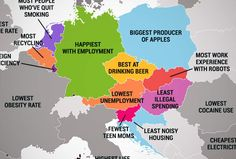 What Every Country in the European Union Is Best At