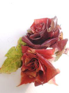 alles-vanellis: Rozen maken van herfstbladeren.