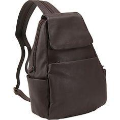#Handbags, #LeatherHandbags - Derek Alexander Sling/Backpack - Brown
