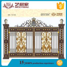 House iron gate design gates and fence design buy house for Latest main gate designs