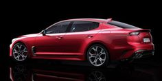 This Is the Gorgeous, Rear-Wheel Drive Kia Stinger GT  - RoadandTrack.com