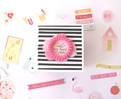 """""""Lovely Rita"""" Exploding Box. """"Fine&Dandy"""" by Dear Lizzy collection"""
