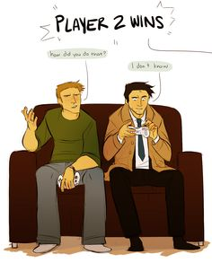 Castiel and video games.....