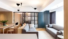 El área nocturna es una sala íntima capaz de aislarse por completo. | Galería…