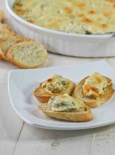 4 Cheese Spinach & Artichoke Dip - FoodBabbles.com