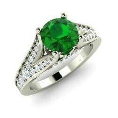 Karlina Ring with Round Brown Diamond, SI Diamond Peridot, Amethyst, Pink Tourmaline Ring, Garnet Rings, Cute Jewelry, Blue Topaz, White Gold, Rose Gold, Engagement Rings