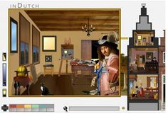 Dutch House interactive GAME  - NGAkids ( National Gallery of Art, Washington, DC) . Children can explore art and architecture from the Dutch Golden Age.
