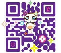 One of the first ever creative QR codes for Louis Vuitton