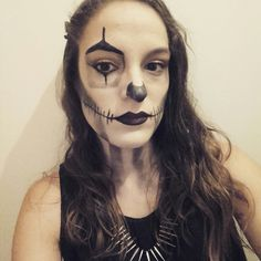 me on halloween  #make up by me