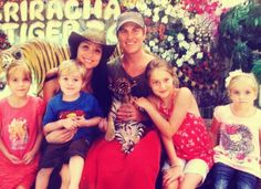 Michelle Andersen and family