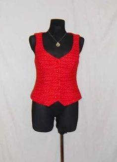 Kupuj mé předměty na #vinted http://www.vinted.cz/damske-obleceni/vesty/15131823-cervena-vlnena-tkana-vesta-na-knoflicky