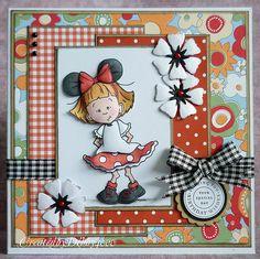 A Scrapjourney: Sassy Mickey