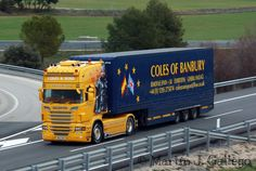 Image result for coles banbury Transport Pictures, Scania V8, Transport Companies, Cole And Son, Air France, Cool Trucks, Trailers, Buses, Sons
