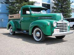 Very rare 1947 Mercury pickup truck.