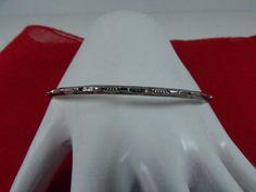 SALE...Vintage Southwestern Sterling silver 925 Bangle  Bracelet ,Great design ,   unique , stunning , so in fashion , so elegant by 911VintageAddiction on Etsy