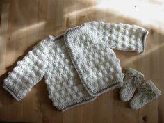 Tuto gilet bébé au crochet
