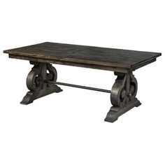 Magnussen Bellamy Wood Rectangular Dining Table | Overstock.com Shopping - The Best Deals on Dining Tables