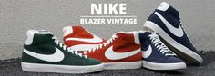 #Nike Blazer Vintage Perforated Leather Pack #sneakers