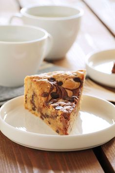 Πίτα μπισκότου με nutella & a perfect day! Nutella Chocolate Chip Cookies, Perfect Day, Greek Recipes, Dessert Recipes, Desserts, Sweet Bread, Food Porn, Cake, The One