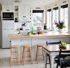 wood for the breakfast nook?