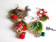 My florist work - New Year's wooden pannels  #knitmade #knitmadeflowers #knitmadenews #newyear #christmas #birch