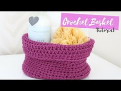 CROCHET: How to crochet an Oval based Basket | Bella Coco - YouTube