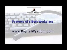 Features of a Best Workplace - YouTube