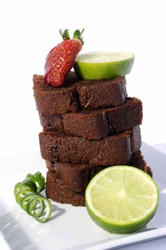 Chocolate Lime Rum Cake (Victoria Allman) Rum Cake, Let Them Eat Cake, Delish, Sweet Tooth, Lime, Strawberry, Alcohol, Favorite Recipes, Victoria