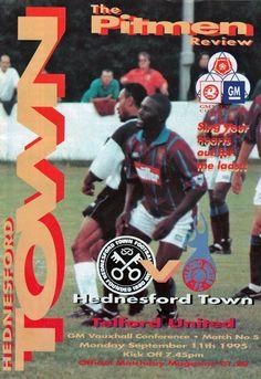 Hednesford Town FC in Hednesford, Staffordshire