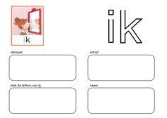 Stempel en schrijf: Kern 1 - IK