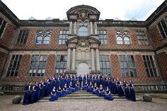The Chanterelles female choir. This is a fantastic photo!