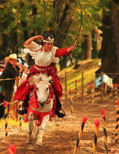 Japanese mounting archery, Yabubsame
