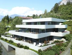 CARISMA Immobilien Wohnprojekt Hötting-Allerheiligen Modern Architecture, Mansions, House Styles, Building, Design, Home Decor, All Saints Day, Real Estates, Projects