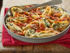 Baked Spinach and Ricotta Stuffed Pasta Shells | Whole Foods Market