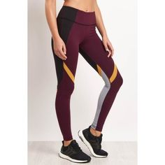 Jordan Tight Hawthorne Marigold (105 CAD) ❤ liked on Polyvore featuring activewear and activewear pants