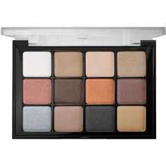 Viseart Eyeshadow Palette ($80) ❤ liked on Polyvore featuring beauty products, makeup, eye makeup, eyeshadow, eye brow kit, highlighting kit, brow kit, eye brow makeup and mineral eyeshadow