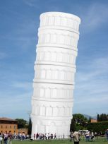 leaning tower of pisa espresso cups