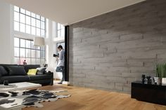 MEISTER Real Wood Wall Systems - Concrete/ cheaper than stone?