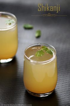 Shikanji / Nimbu Pani Recipe - Indian Lemonade Recipe : http://www.blendwithspices.com/2014/06/shikanji-nimbu-pani.html